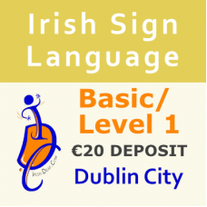 ISL Basic/Level 1 Course (Dublin City)  (€20 Deposit Non-Refundable)