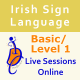Live Sessions Online for Basic/Level 1 Course - Evenings only