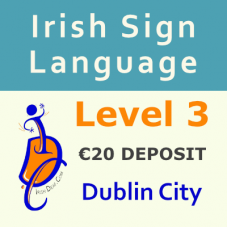 ISL Level 3 Course (Dublin City) €20 Deposit Non-Refundable