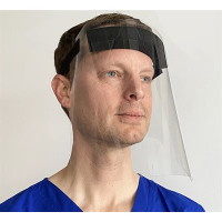 FACE SHIELD - CLEAR, ADJUSTABLE, REUSABLE (EACH)