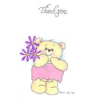 Thank You Bear Card