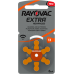 RAYOVAC Hearing Aid Batteries Set of 10 packs (60 batteries)