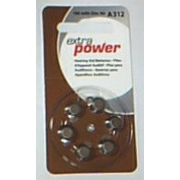 Hearing Aid Batteries - Brown/312