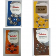 Hearing Aid Batteries (A pack of 6)