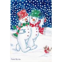 Snowmen Christmas Card