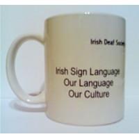 Irish Deaf Society Mug