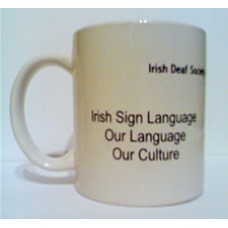 Irish Deaf Society Mug