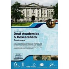 4th International Deaf Academics & Researchers DVD