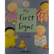 My First Signs Boardbook - BSL