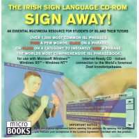 The Irish Sign Language CD Rom Sign Away!