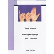 Tutor Manual Level One Unit 103